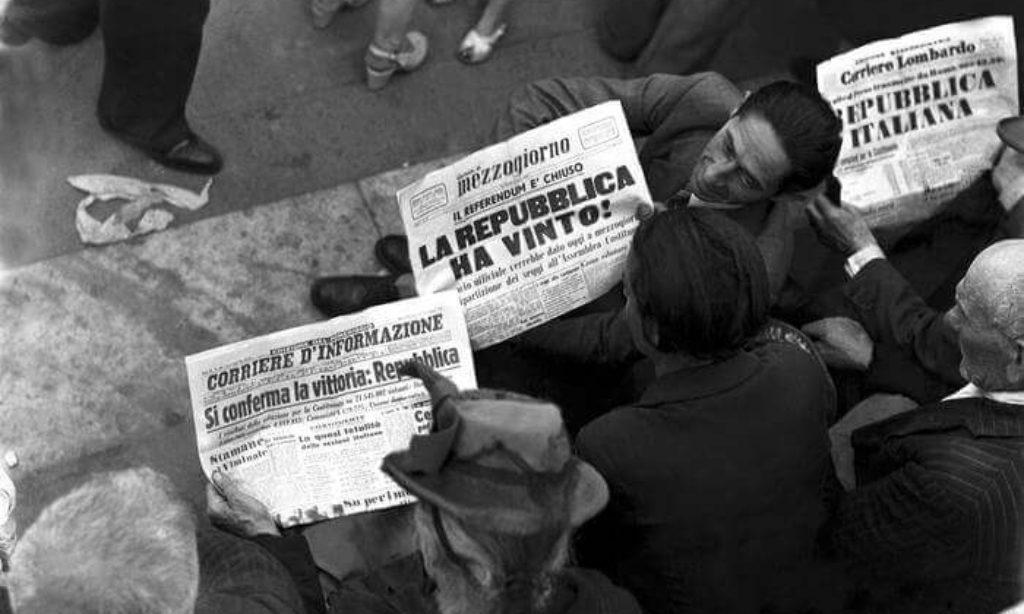 2 Giugno 1946 – 2 Giugno 2016 : 70 anni di Repubblica
