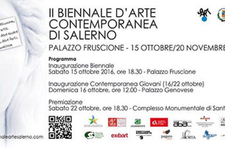 A Palazzo Fruscione la II edizione della Biennale di Arte Contemporanea di Salerno