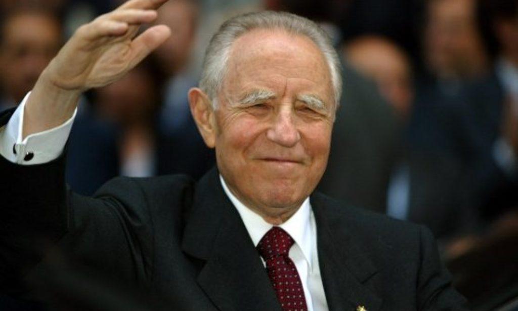 """Domani esequie del Presidente Ciampi. Ai giornalisti : """"…schiena sempre dritta"""""""