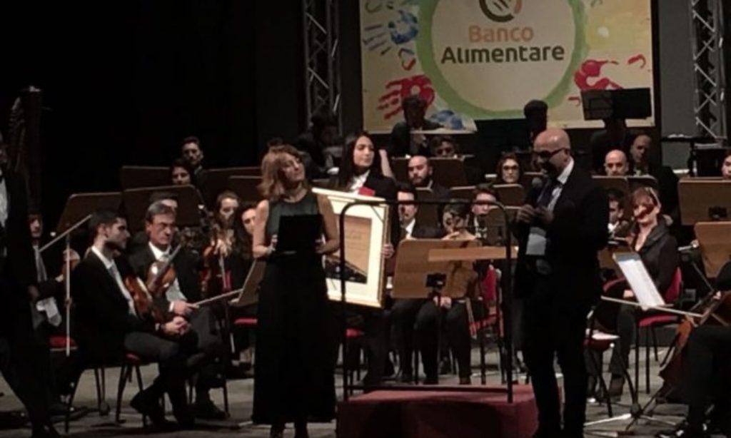 Cerimonia di donazione al Banco Alimentare Campania Onlus