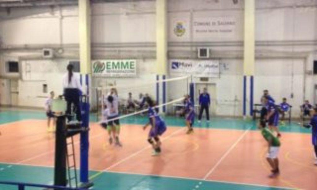 Indomita Salerno : prima partita dei play off e prima vittoria.