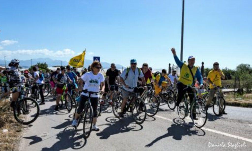 Ciclamina: ieri la tradizionale passeggita ecologica in bicicletta