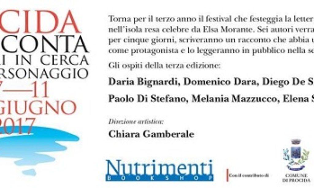 "Chiara Gamberale parla di ""Procida racconta"""