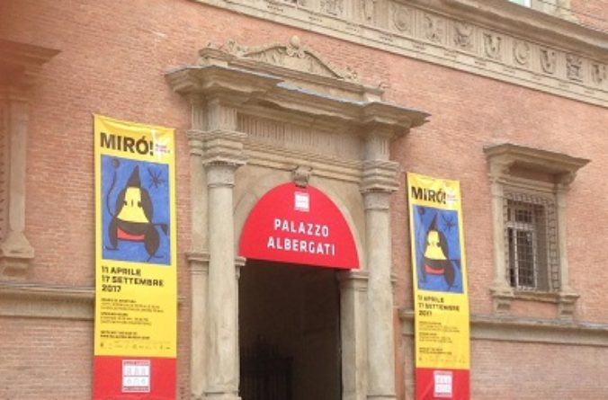 La Mostra di Joan Mirò a Bologna