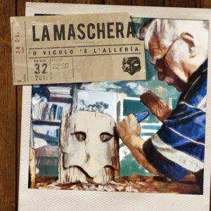 La copertina del disco de La Maschera