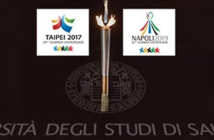 UNISA: la Cerimonia della Torcia di Taipei-Universiadi 2017-19
