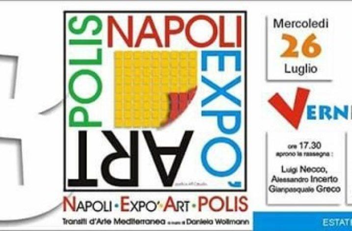Dal 26 Luglio la III edizione del  Napoli Expò Art Polis