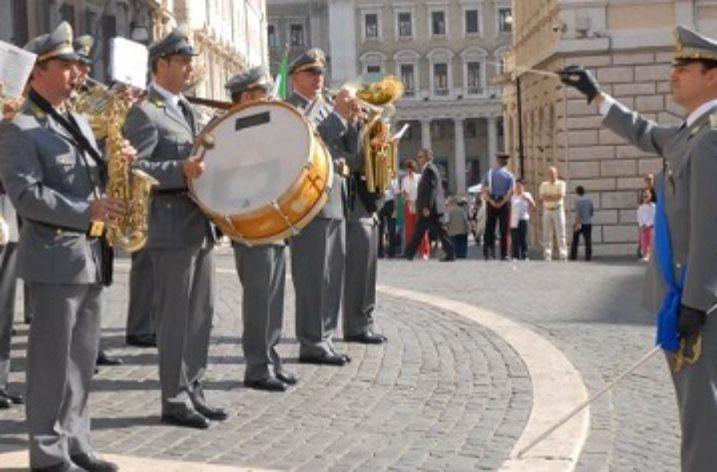 Campania: Reclutamento di otto esecutori della Banda Musicale della GdF