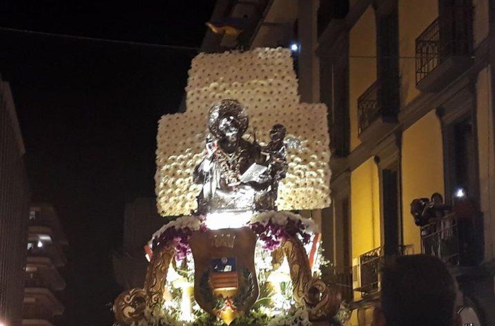 San Matteo inchino si, inchino no, nell'atrio del Palazzo Comunale: la Lega Salvini Salerno dice no