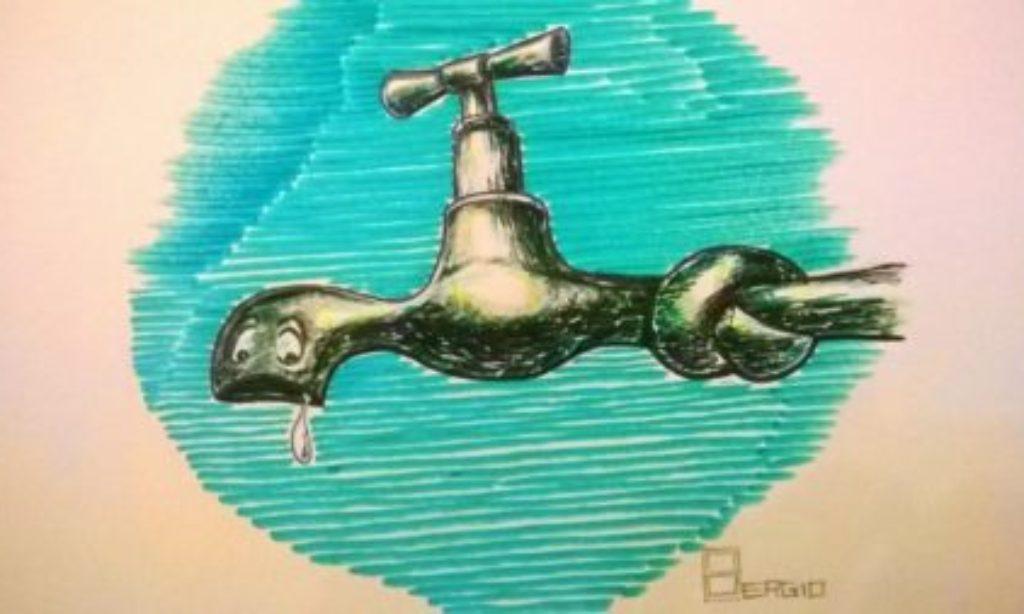 Sospensione idrica a Salerno martedi 24 Ottobre