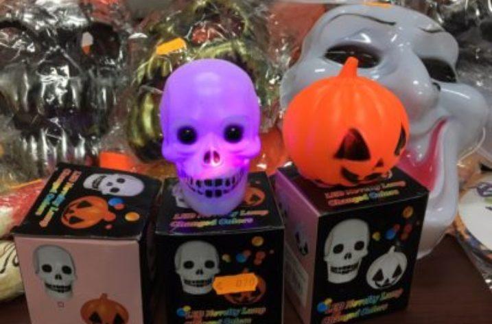 Nell'avellinese maxi sequestro di prodotti per Halloween contraffatti