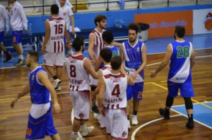 La Hippo Basket Salerno batte il C.A.B. Solofra e cala il tris