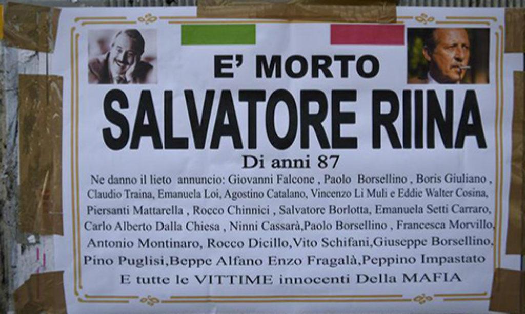 """Nessun funerale per il """"capo dei capi"""" di Corleone"""