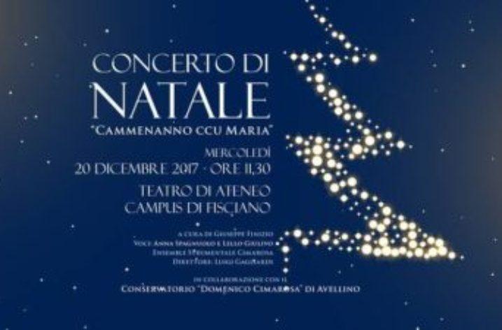 UNISA: Concerto di Natale nel Teatro d'Ateneo