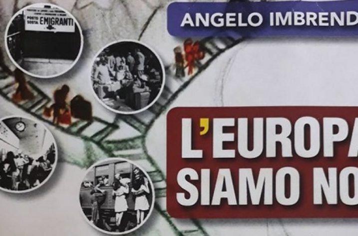 """""""L'Europa siamo noi"""": l'ultimo libro di Angelo Imbrenda"""