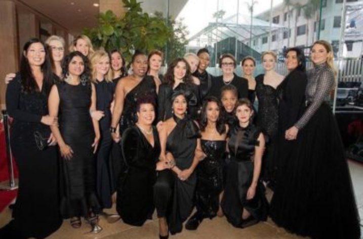 2018, Golden Globe con Black Carpet!