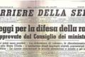Dalle Leggi razziali alla toponomastica di Napoli.
