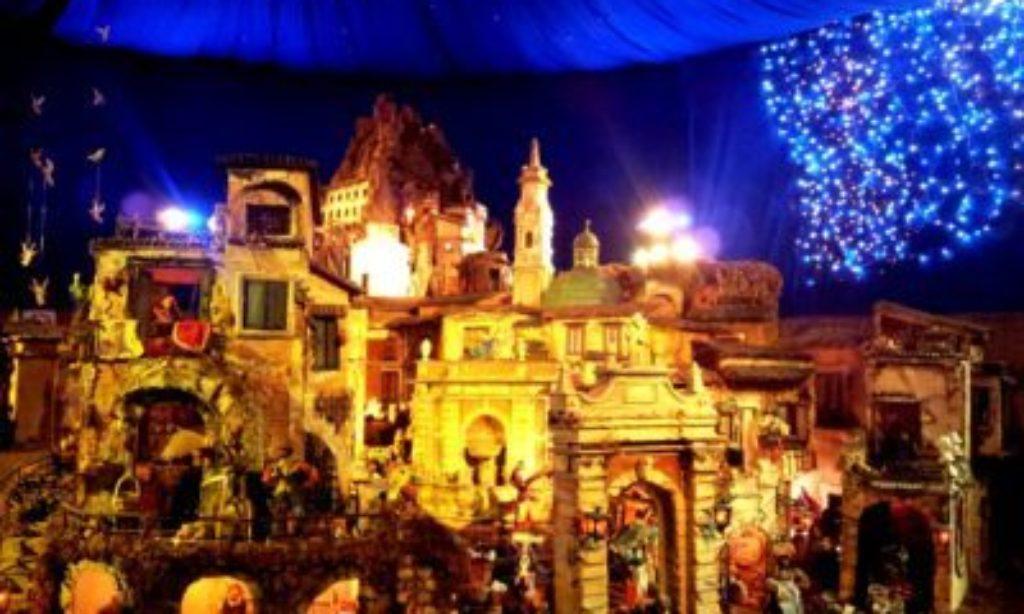 Il singolare Presepe di Sant'Agostino a Salerno