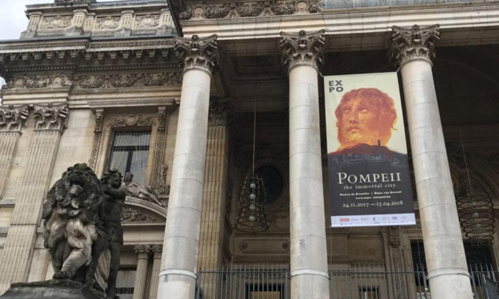 """""""Pompei, The Immortal City"""" in esposizione a Bruxelles fino al 15 aprile 2018"""