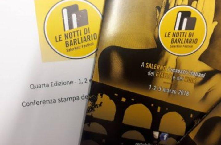 """Il mistero torna in città con """"SalerNoir Festival- Le Notti di Barliario"""""""
