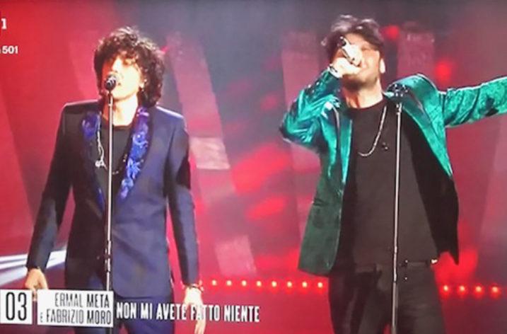 Sanremo 2018 visto dalla TV di casa