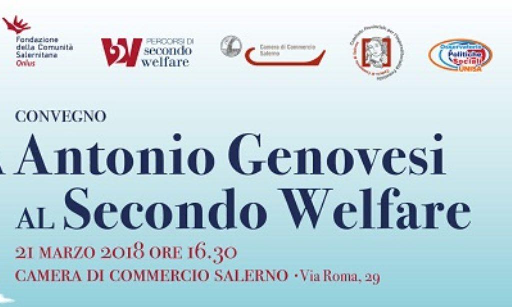 """""""Da Antonio Genovesi al Secondo Welfare"""": oggi alla Camera di Commercio di Salerno"""