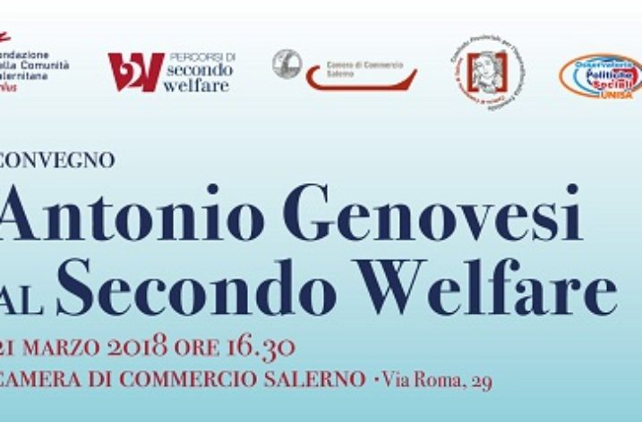 """Da Antonio Genovesi al Secondo Welfare"": oggi alla Camera di Commercio di Salerno"