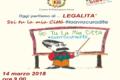 """""""Oggi parliamo di … Legalità"""": al Palazzetto dello Sport di Pontecagnano con trecento bambini"""