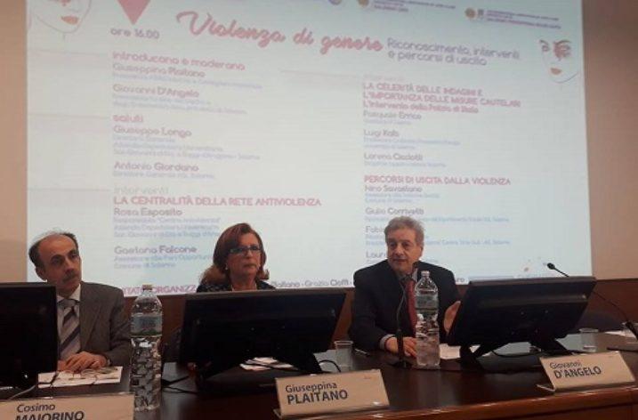 All'Ordine dei Medici di Salerno riflettori puntati sulla violenza di genere.