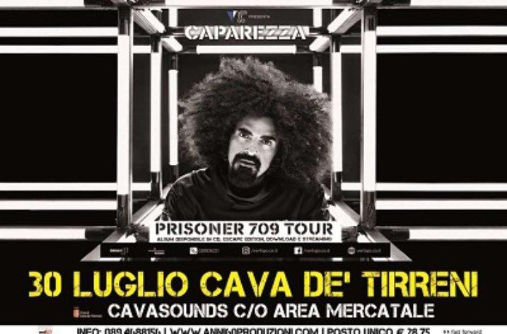 CAVASOUNDS: con Caparezza la musica torna a Cava de' Tirreni