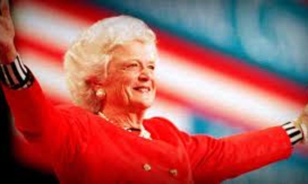Goodbye Mrs Barbara Bush, ex Firs Lady USA