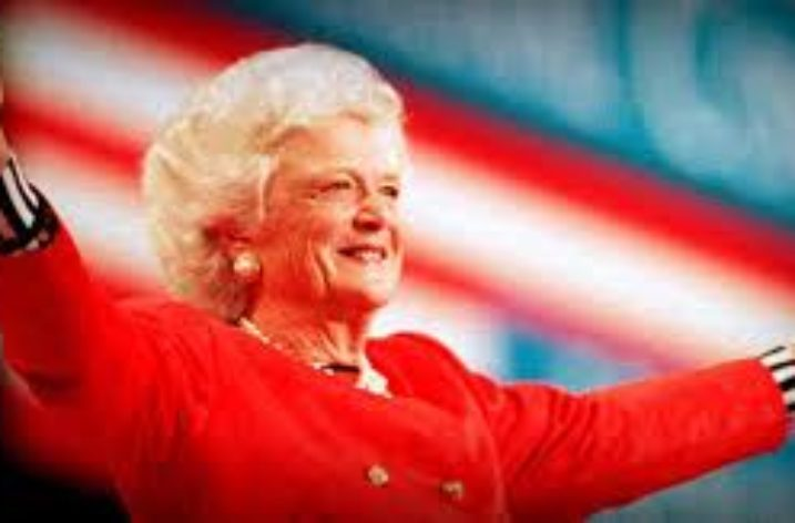 Goodbye Mrs Barbara Bush, ex Firs Lady USA