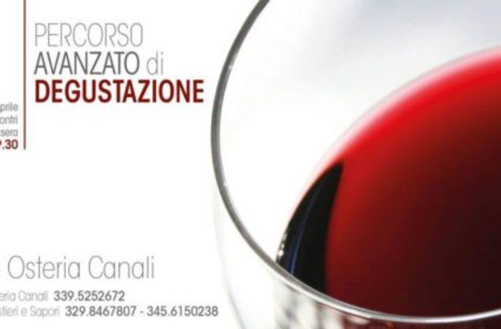 Salerno: Il 19 Aprile all'Osteria Canali è questione di vino, gusto, parole