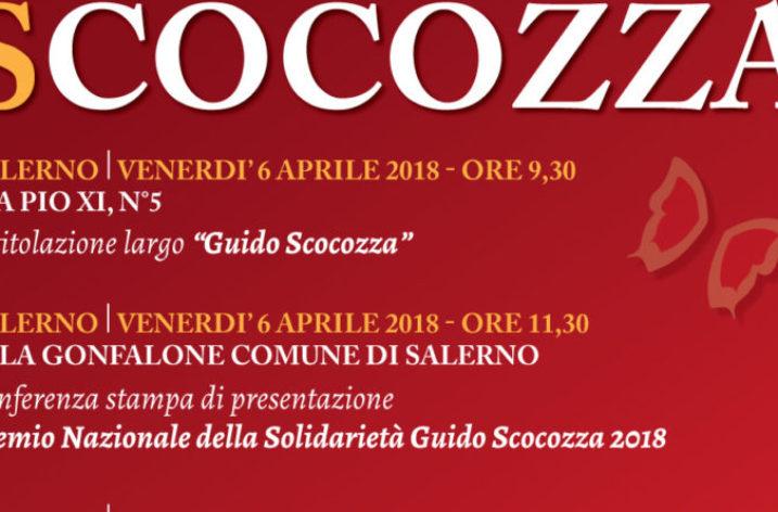 """In via Pio XI s'inaugura """"Largo Guido Scocozza"""""""