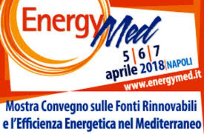 ENERGYMED 2018: energie rinnovabili e alta tecnologia