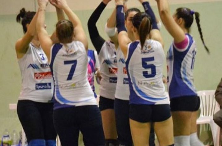 Indomita salerno-Alma Volley : 3-1
