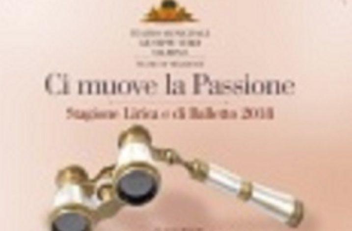 Si alza il sipario sulla Stagione Lirica e sui  concerti al Massimo cittadino