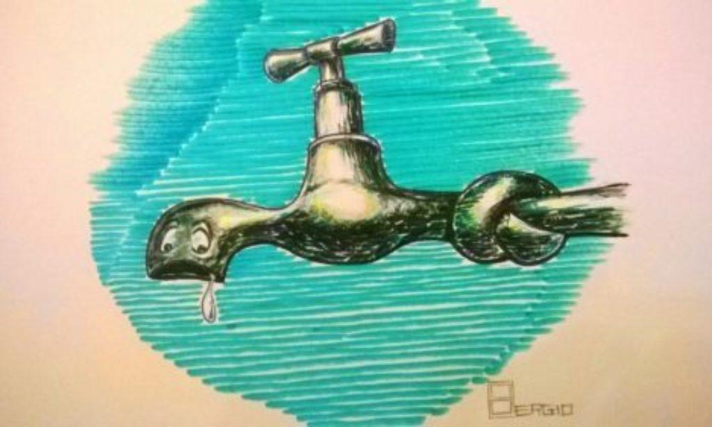 Martedì 16 Aprile, Sospensione erogazione idrica a Salerno