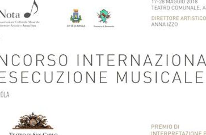 """Termine prorogato per iscriversi al Concorso Internazionale """"Città di Airola"""""""