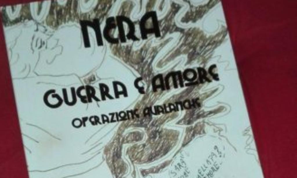 """Nera D'Auto a Palazzo Genovese con """"Nera Guerra e Amore-Operazione Avalnche"""""""
