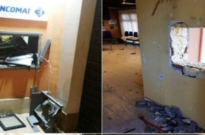 Capaccio-Paestum: esplosivo alla filiale BCC di Aquara, ladri in fuga con 26mila euro