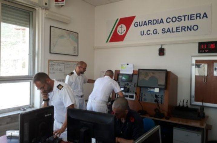 Incendio a bordo di un traghetto: esercitazione della Guardia Costiera di Salerno