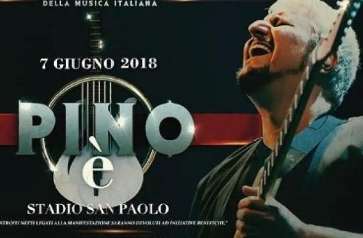 Il concerto tributo a Pino Daniele e De Giovanni rilanciano la lingua napoletana
