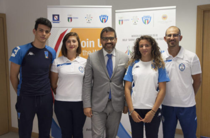 UNISA: terza tappa del tour Universiade 2019