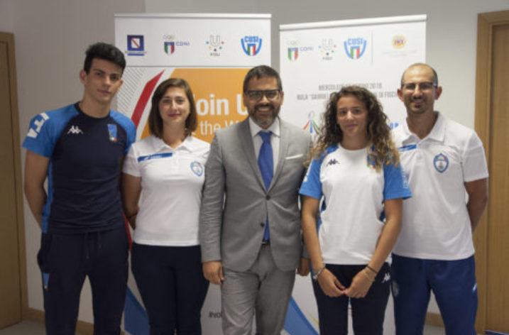 UNISA: terza tappa del tour Universiade 2019