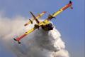 Due Canadair Italiani nei cieli di Atene