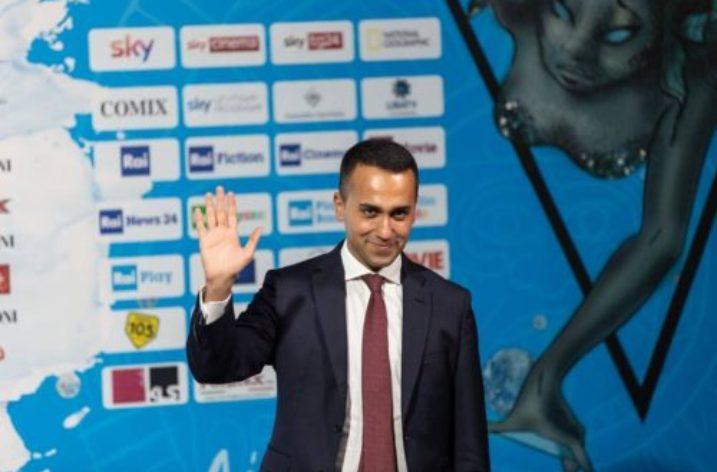 Il vicepremier Luigi Di Maio al Giffoni Film Festival