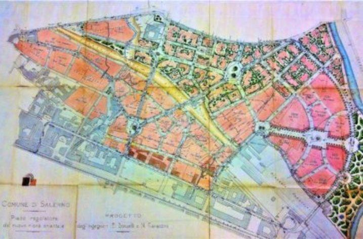Salerno: il Piano Regolatore di cento anni fa: il Donzelli-Cavaccini