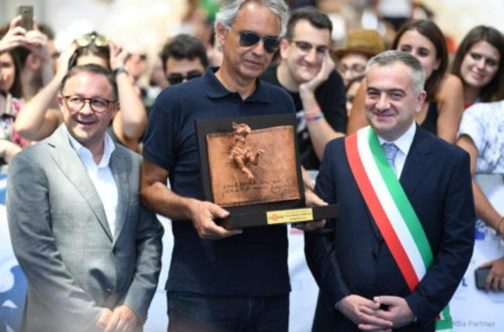 Al Giffoni Film Festival, Andrea Bocelli e 5601 giurati da 52 Paesi del mondo