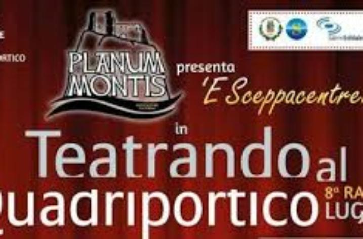A Salerno dal 5 Luglio al 4 Agosto la Nona Edizione di Teatrando al Quadriportico